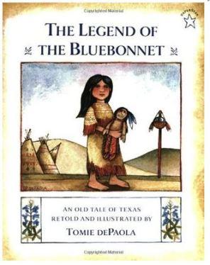 legend of the bluebonnet cover