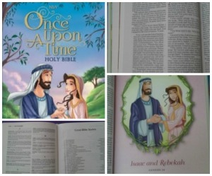 Once Upon A Time Bible collage