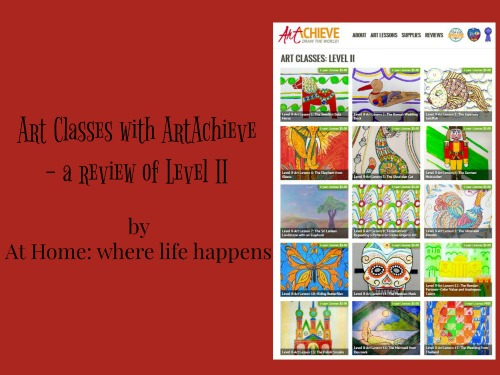 Art classes with ArtAchieve