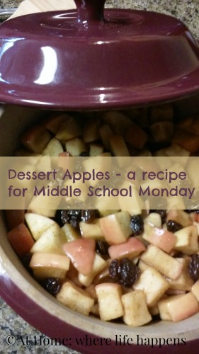 dessert apples recipe