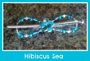 Hibiscus Sea flexi clip