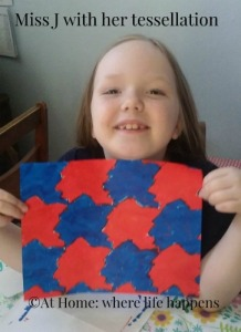 Miss J with tessellation
