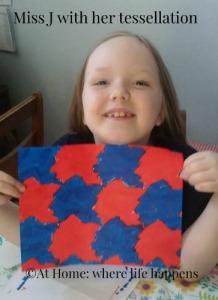 Miss J with tessellation