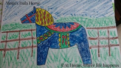 Mom's Dala Horse