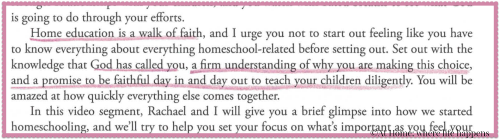 quote from How to Homeschool