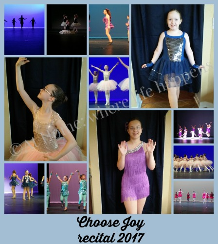 U Choose Joy recital 2017