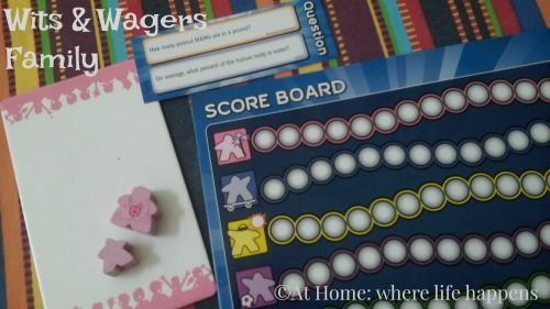 W Wits & Wagers pieces