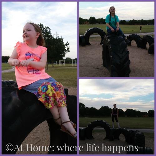 X tire playground