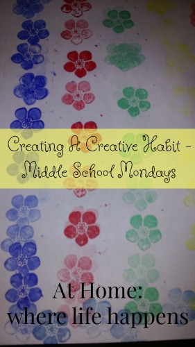 Creating a Creative Habit MSM