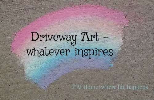 Driveway Art whatever inspires