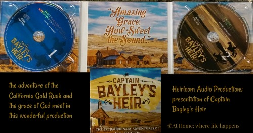 Captain Bayley's Heir inside CDs