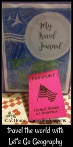 travel journal and passport