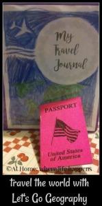 travel journal and passport