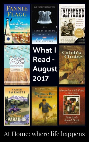 What I Read August 2017