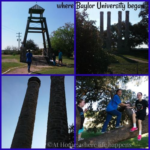 Baylor University beginnings