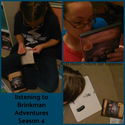 listening to the adventures