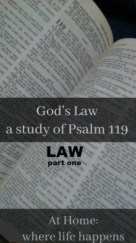 God's Law LAW part one