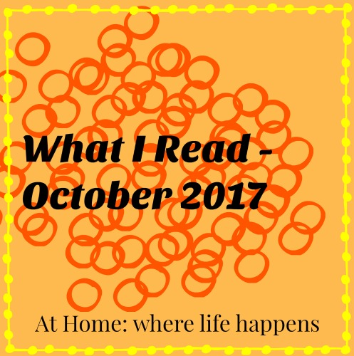 What I Read October 2017