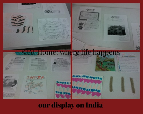 our display on India