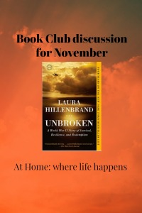Unbroken book club