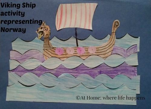 Viking Ship activity