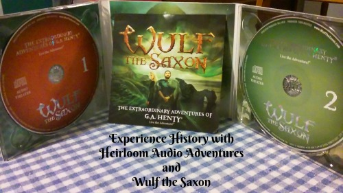 inside CD case of Wulf the Saxon