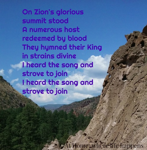 On Zions Glorious Summit Stood