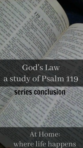 God's Law series conclusion