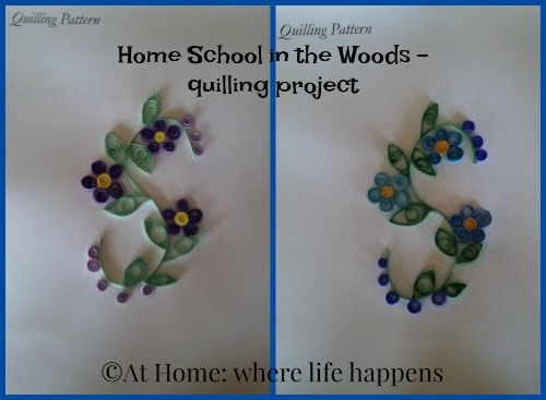 HSITW finished quilling projects