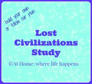 Lost Civilizations plan