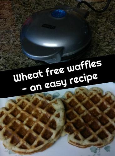 waffles wheat free recipe