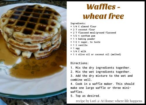 waffles wheat free