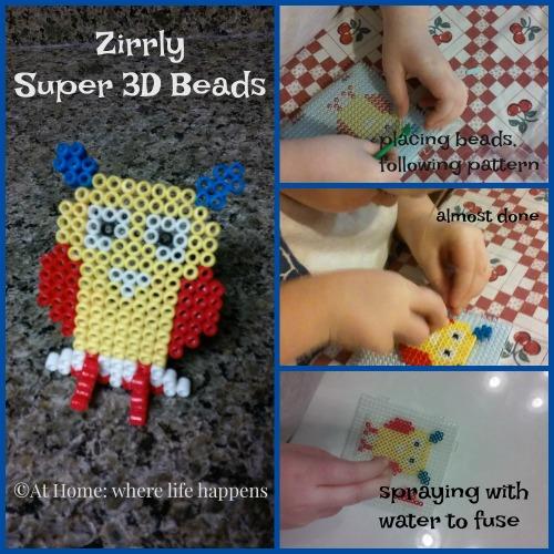 Zirrly Super 3D Beads owl
