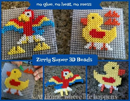 Zirrly Super 3D Beads parrot duck