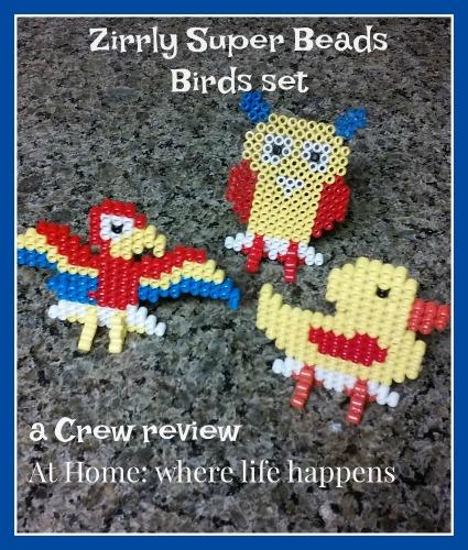 Zirrly Super Beads bird set