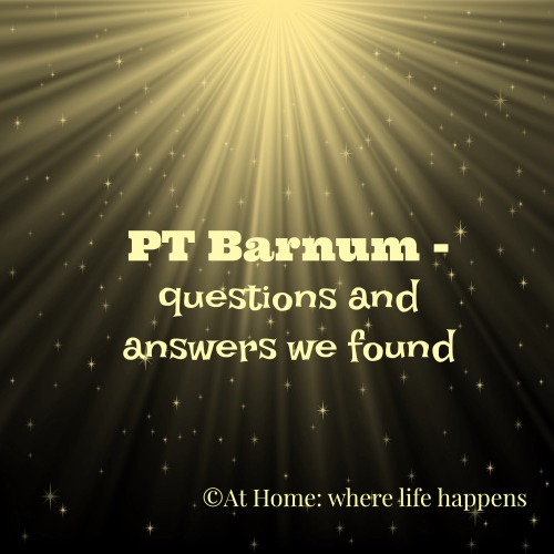 PT Barnum questions and answers