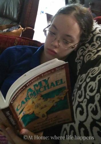 reading Amy Carmichael