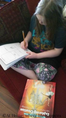 working in junior notebooking journal
