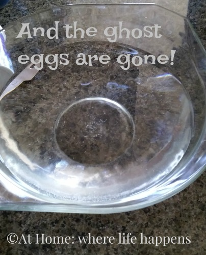ghost eggs are gone