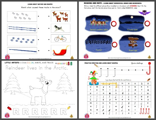 Jingle workbook pages
