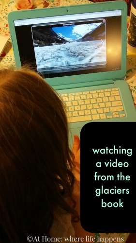 watching video from glaciers book