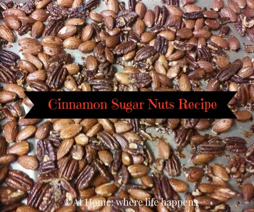 Cinnamon Sugar Nuts Recipe