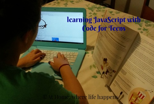 learning coding with Code for Teens