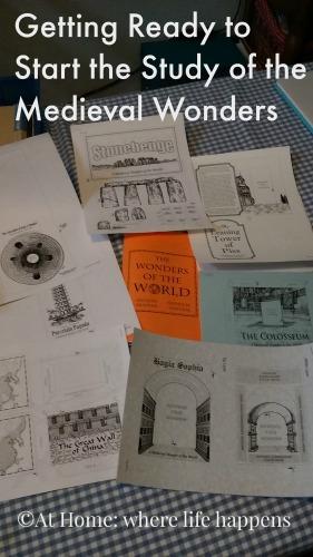 Medieval Wonders pages