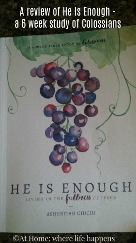 He Is Enough review