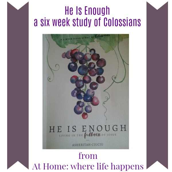 He Is Enough study of Colossians