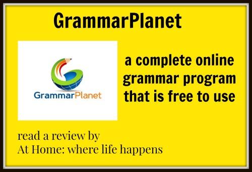 GrammarPlanet online