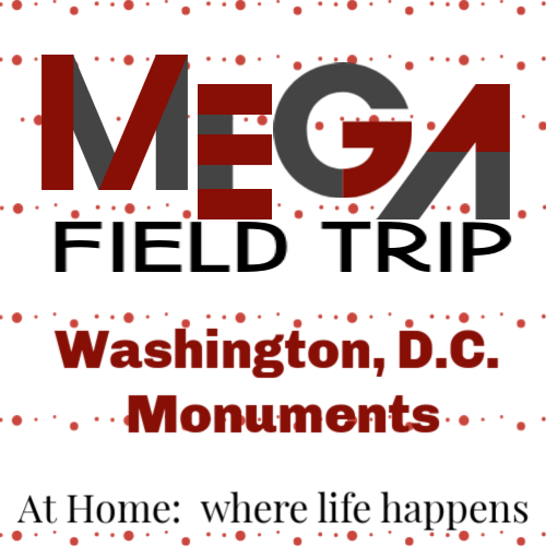 Mega Field Trip - this stop was the National Monuments in Washington, D.C.
