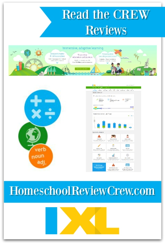 IXL for online, individualized learning ~ a Crew review | At Home