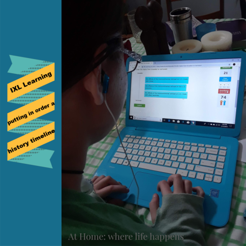 IXL for online, individualized learning ~ a Crew review   At Home
